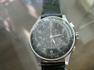 $ CDN1771.98 • Buy Vintage And Rare Angelus Chronograph Suisse 17 Jewels Swiss Made Wristwatch