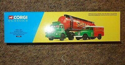 Corgi 31005 Shell/BP Bedford S Type Tanker & Land Rover Set - Excellent Boxed  • 16.99£