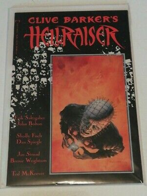 Clive Barkers Hellraiser Book 1 First Edition 1989 Epic Comics Pinhead New • 22.49£