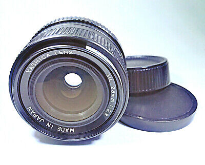 [Minor Flaw] Yashica ML 28mm F/2.8 Fast Wide Angle Prime Lens ⌀52 - C/Y Mount • 52.99£