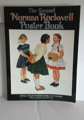 $ CDN10.38 • Buy The Second Norman Rockwell Poster Book By Rockwell Norman 1st Printing 1977