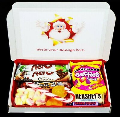 Personalised Sweets Box Hamper Pamper For Dad Mum Kids All Christmas Gift • 3.99£