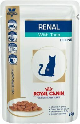 Royal Canin Renal Feline Tuna Cat Food, 85 G (Pack Of 12) 85 G  • 22.19£