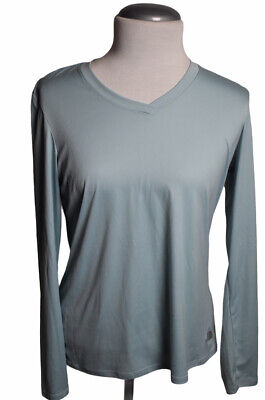 £11.45 • Buy Women's The North Face Long Sleeve Base Layer Shirt Light Blue Size L T12