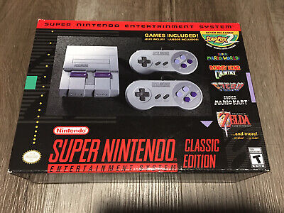 $ CDN249.99 • Buy Snes Brand New Super Nintendo Entertainment System Classic Edition  Mini Mint
