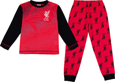 Liverpool F.C Official Boys Liverpool F.C. Pyjamas LFC Pjs Ages 3 To 14 Years • 10.99£