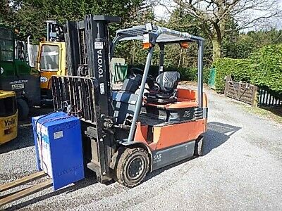 Toyota 7fbmf25 2012 Electric Forklift Used Counterbalance Ref Fto2865 • 9,500£