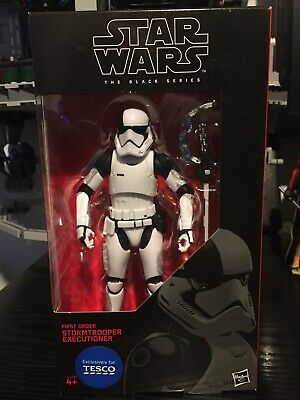 Stormtrooper Executioner 6  Inch First Order Star Wars Black Series *brand New* • 20£