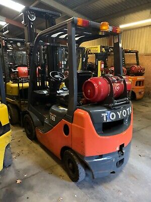 Toyota 02-8fgf18 2016 Gas Forklift Truck Counterbalance Fto2965 • 9,900£