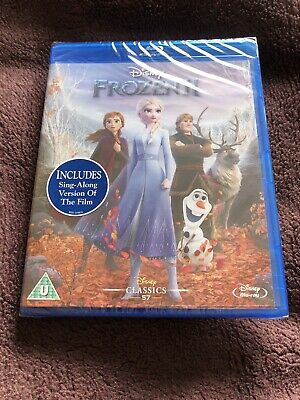 Frozen 2 [Blu-ray] Including Sing - Along Version Of The Film New Sealed • 7£