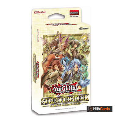 YuGiOh Spirit Charmers Structure Deck | New & Sealed | 1st Edition | TCG Cards • 10.95£