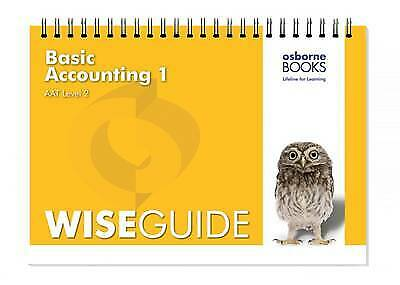 Basic Accounting 1 Wise Guide (AAT Accounting - Level 2 Certificate In Accountin • 4.79£