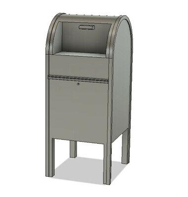 $6 • Buy N Scale Detail Parts - Mailbox (Qty 2)