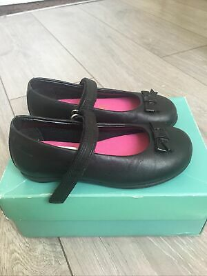 Clarks Girls Shoes Daisy Meadow Size 7.5 Uk • 7.95£