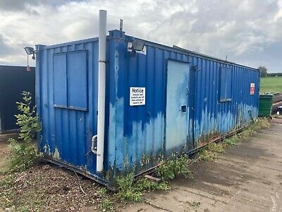 £3000 • Buy 30 Ft X 8 Ft Anti Vandal Cabin Container Welfare Unit With Shower & Sink