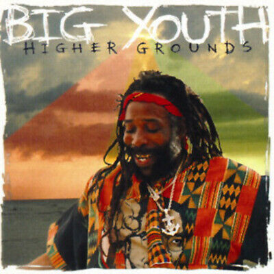 Big Youth - Higher Grounds LP - NEW 1995 ORIGINAL Vinyl Record Reggae Album • 12.29£