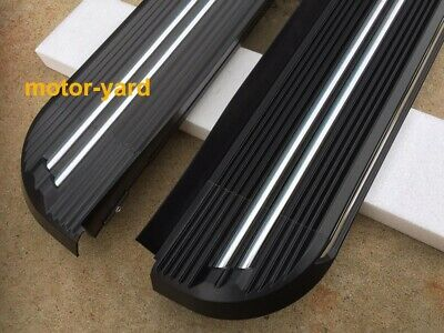 AU389 • Buy (#SY06) Running Boards Side Steps For SsangYang Musso / Musso XLV Dual Cab 18-21
