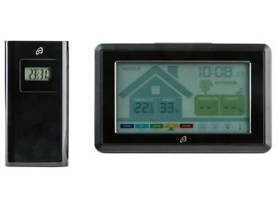 Auriol Radio-controlled Weather Station & Ventilation Monitor Touch-screen Opera • 25.99£