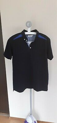 Oscar Jacobson Corporate Golf Polo Shirt Size L Large Black Volkswagen  • 14.99£