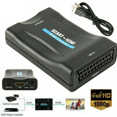 LG 32LX2R Compatible SCART To HDMI TV Converter Adapter • 14.99£