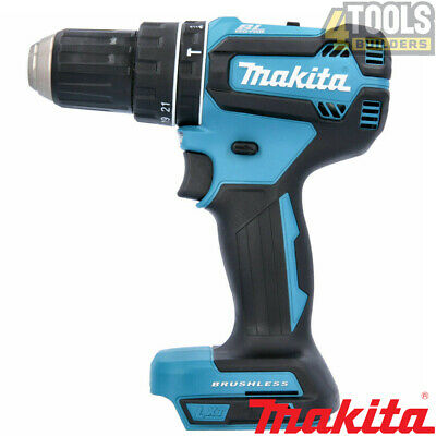Makita DHP485Z 18v LXT Cordless Brushless 2-Speed Combi Drill Body Only • 84.90£
