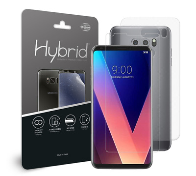 AU59 • Buy Lg V30 Hybrid High-gloss Lcd Protective Film Case Type Genuine Made In Korea