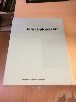 John Baldessari: Ni Por Esas / Not Even So 1989 Very Good Conceptual Art 1st PB • 15£