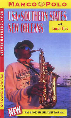 United States Of America: Southern States/New Orleans (Marco Polo Travel Guides) • 5.99£