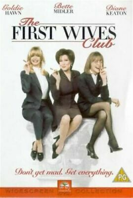 The First Wives Club Dvd Goldie Hawn Brand New & Factory Sealed (1996) • 11.95£