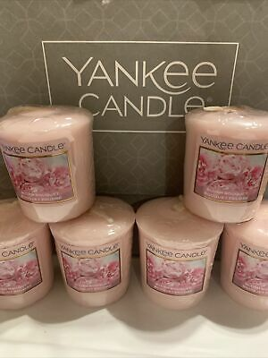 Yankee Candle 6 X Blush Bouquet Votive Sampler Pink Candle(last For Me) Rare • 9.99£