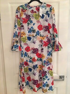 AU20 • Buy ASOS Floral Dress Size 12