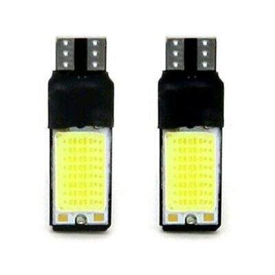 $ CDN2.17 • Buy 2Pcs T10 W5W 194 168 Wedge Light Bulb 6W 12V LED 6000K COB Canbus Reading Lamp