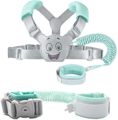 Baby Reins Walking Harness For Toddlers, Kids, Children, 3-in-1, Anti Lost Wrist • 17.99£