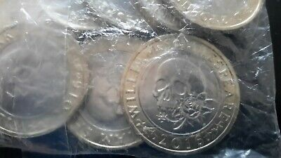 Shakespeare £2(tragedies Skull) 2016 Mint Sealed Bag 10 Coins Unopened Unc • 34.90£