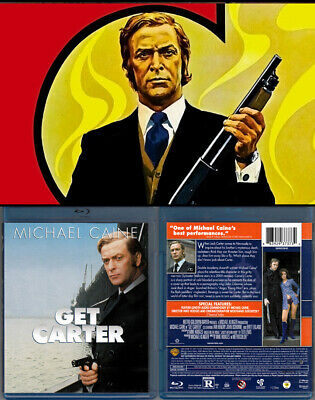 Blu-ray Michael Caine GET CARTER 1971 Britt Ekland Mike Hodges OOP Region A/B/C • 14.24£