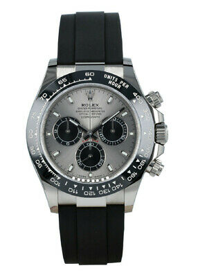 $ CDN48020.12 • Buy Rolex Cosmograph Daytona 116519LN White Gold Ceramic New Cord Watch 40mm 2020