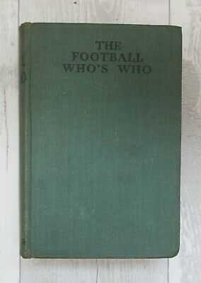 Johnston. The Football Who's Who. Associated Sporting Press, 1935 • 7£