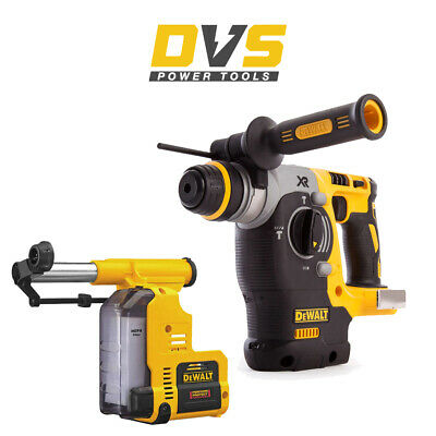 DeWalt DCH273N XR Brushless Cordless SDS+ Rotary Hammer Drill + Dust Extractor • 364.95£