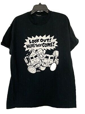 $85 • Buy Vintage Milk And Cheese Comic Evan Dorkin Look Out Shirt XL