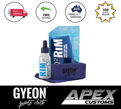 $60.95 • Buy Gyeon Rim Hydrophobic Ceramic Coat Wheels Engine Brake Coating 6 Month Life