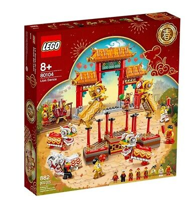 AU95 • Buy LEGO 80104 Lion Dance Brand New And Sealed