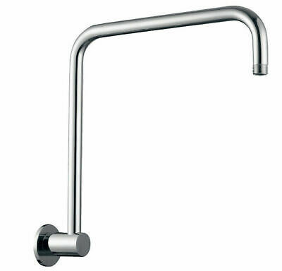 AU59.80 • Buy Round Shower Arm Only Gooseneck Wall Mounted Extension Brass Chrome For Head