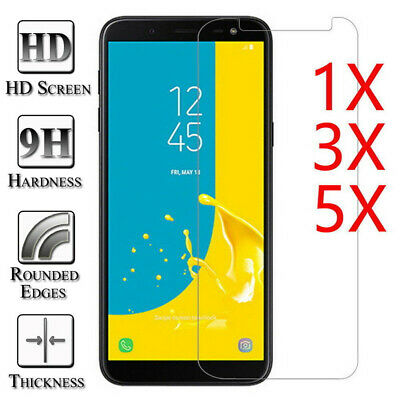 $ CDN4.91 • Buy 9H Tempered Glass Screen Protective For Samsung Galaxy J7 J5 J3 A5 A6 A7 A8 A9