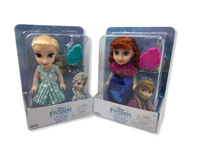 Disney Frozen Petite Anna & Elsa Toddler Dolls, New In Boxes. Come Play With Me. • 31£