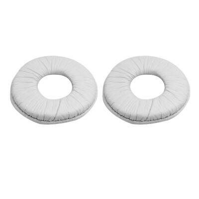 1 Pair Sponge Replacement Ear Pads Cushion For SONY MDR-ZX100 ZX300 (White) • 3.77£