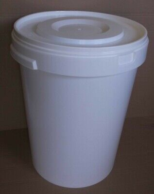 Large Brewing Bucket/Fermenter (60L) With Lid For Use In Beer/wine Fermenting • 32.50£