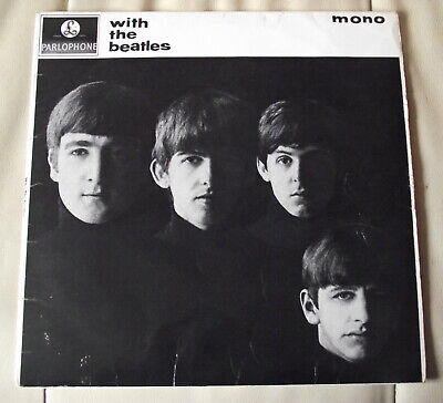 £145 • Buy The Beatles WITH THE BEATLES  PMC1206 1963 Orig.1st.Press XEX447/8 1N/1N MONO