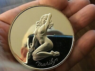$ CDN295.41 • Buy Vintage 5 Oz .999 Silver Marilyn Monroe Madison Mint Silver Art Round