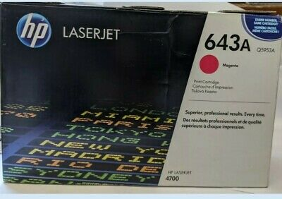 HP Toner LaserJet Q5953a 4700 Genuine Original Magenta Open Box - Bag Sealed  • 65£