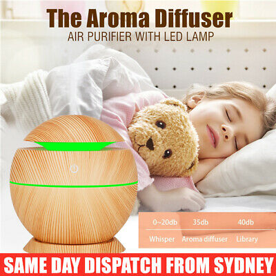 AU16.95 • Buy Ultrasonic Aroma Air Humidifier Aromatherapy Diffuser Essential Oil LED Purifier